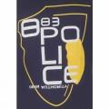 Police Round Neck T - Shirt YG026T Mid Night Blue