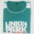 LinKin Park Round Neck T-Shirt  YG28 Turquoise