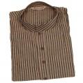 Exclusive Raw Silk Stripe Punjabi SB61P Peru