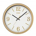 CASIO Round Resin Wall Clock IQ-71-9DF