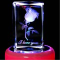 Romantic Crystal Rotating Music Box