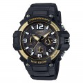 CASIO Men's Black Dial Silicone Band Watch MCW-100H-9A2VDF
