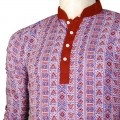Exclusive Printed Boishakhi Panjabi JC760