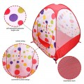 Children Polka Dot Ball Print Play House
