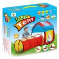 Kids House Play Tent With Tunnel 995-7012B