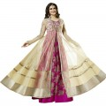 Prachi Desai Anarkali Dress With Long Jacket WF053