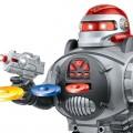Remote Control Robot Fires Discs, Dances, Talks Super Fun