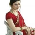 Pohela Boishakh Dupion Silk Saree VF107