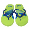 Stylish Adidas Flip Flops Light Green