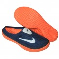 Stylish Nike Half Slipper  Navy Blue With Orange