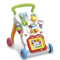Multifunction Grow With Me Musical Walker Trolley Toys MCH019