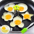 4x Stainless Steel Fried Egg Shaper