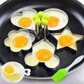 4x Stainless Steel Fried Egg Shaper