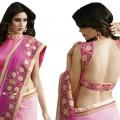 Nirvana Exclusive Pink Stylish Designer Saree