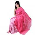Eid Exclusive Muslin Silk Jamdani Saree TS4851