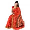 Eid Exclusive Silk Jamdani Saree TS4902