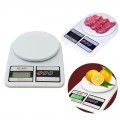 Generic Electronic Kitchen Scale White