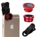 Universal 3 In 1 Clip Lens Camera For Smart Phone Mobile HCL175