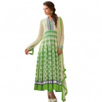 Exclusive Eid Special Lime Green Abaya Style Anarkali Suits WF006