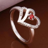 Red Love Finger Ring HCL202
