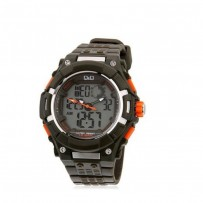Q&Q GW80J004Y Regular Analog Digital Black Dial Men's Watch