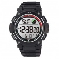 Q&Q M119J004Y Standard Dual Time Digital White Dial Men's Watch