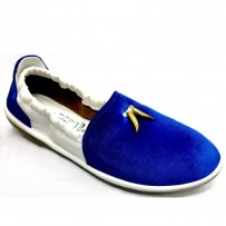 Stylish Gents Velvet Color Loafer FFS235- Royal Blue