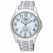 Q&Q Q206J204Y for Men Analog Stainless Steel Band Watch