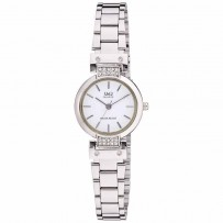 Q&Q Q645-201Y Analog White Dial Women's Watches