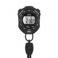 Q&Q MF01J002Y Digital Black Dial Unisex Watch