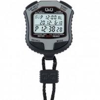 Q&Q HS45J002Y Grey Digital Stop Watch