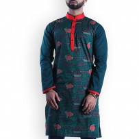 Shadhinota Dibosh Special Cotton Punjabi  SW745