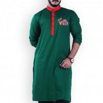Shadhinota Dibosh Special Cotton Punjabi SW748