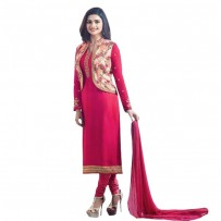 Exclusive Eid Special Prachi Desai Jacket Suit Deep Pink WF030