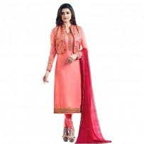 Exclusive Eid Special Prachi Desai Jacket Suit Light Coral WF032