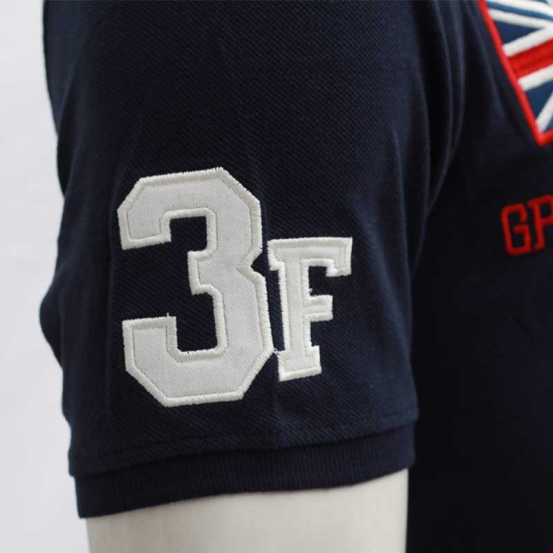 b4c19ff6 ... Abercrombie & Fitch Polo Shirt SB15P Navy Blue lightbox moreview ...