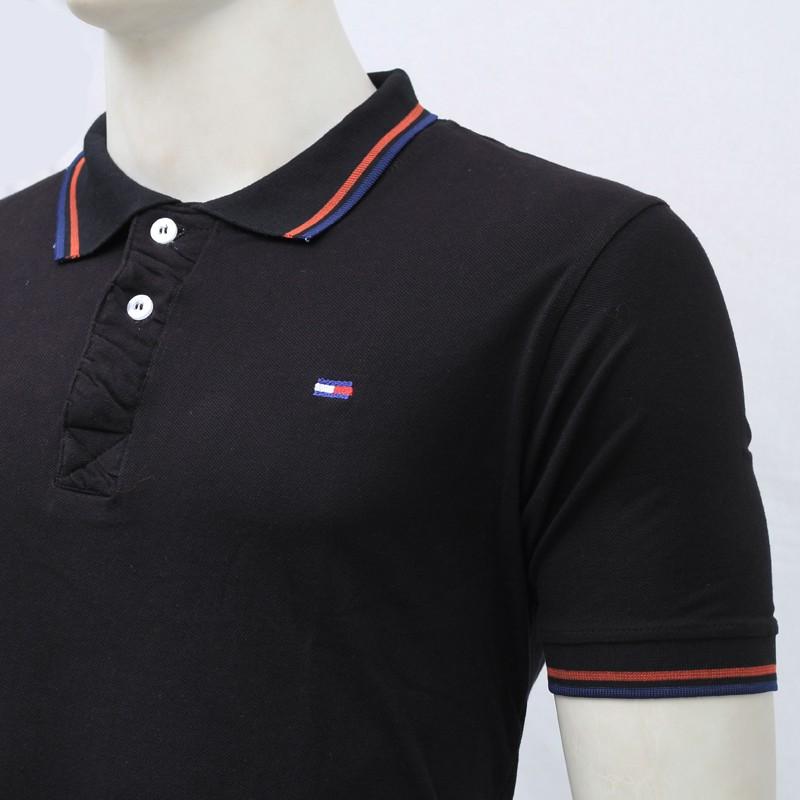 tommy hilfiger polo shirt sb12p black. Black Bedroom Furniture Sets. Home Design Ideas