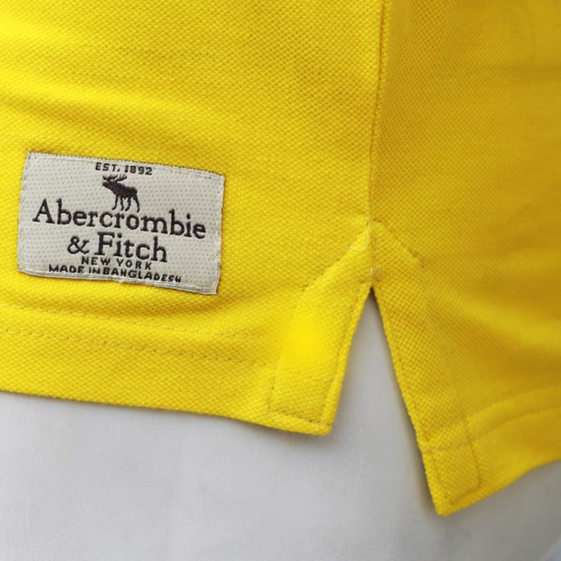 3ed0ffef ... Abercrombie & Fitch Polo Shirt SB04P Yellow lightbox moreview ...