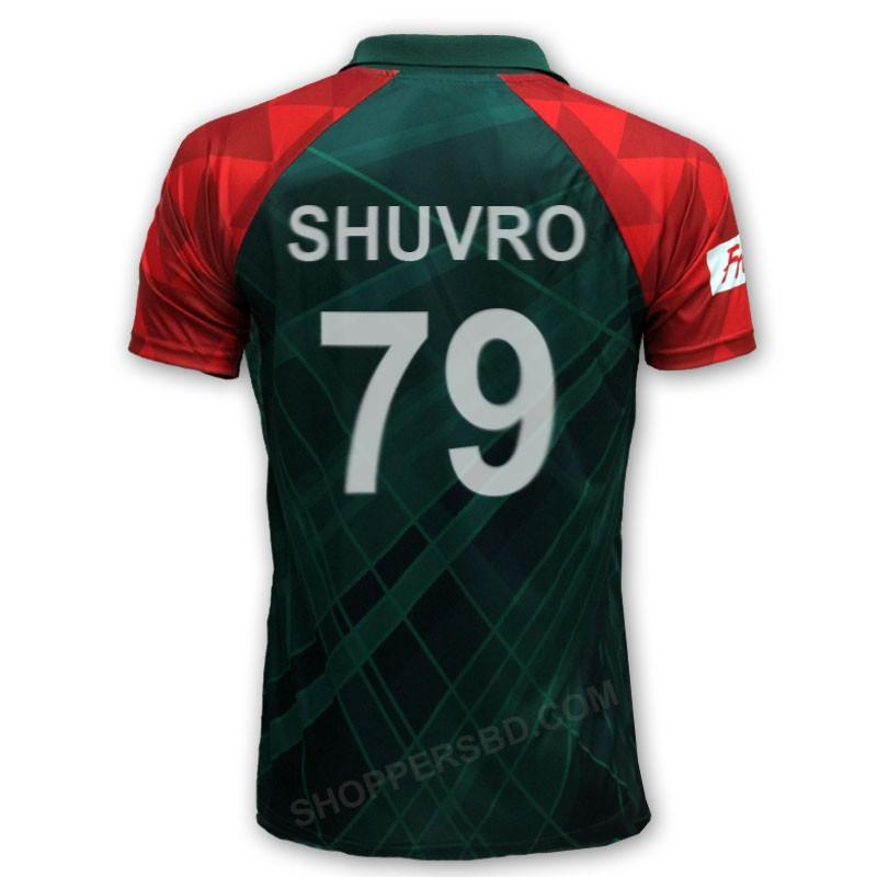 Icc World Twenty20 2016 Bangladesh Cricket Team Jersey