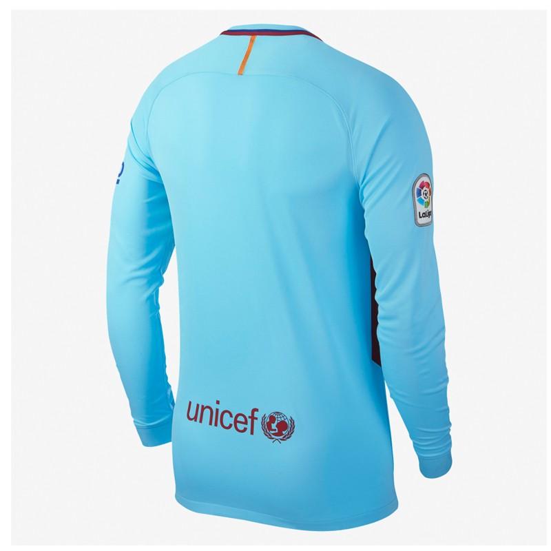 Fc Barcelona Full Sleeve Away Jersey 2017 18
