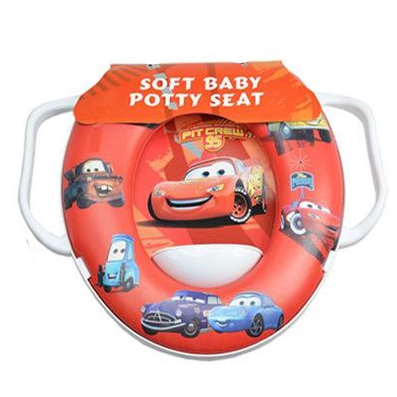 Disney Cartoons Baby Soft Potty Toilet Seat