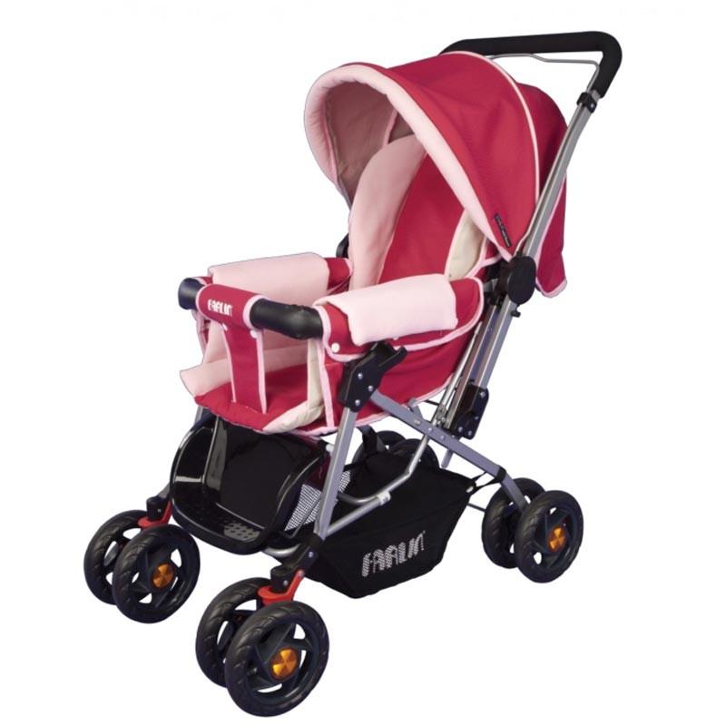 Farlin Bf 889b Baby Stroller Pink
