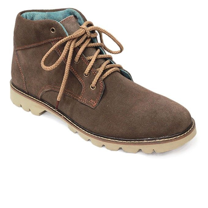 Dark Brown Leather Casual Boot Ffs422 Boots Amp Adventure