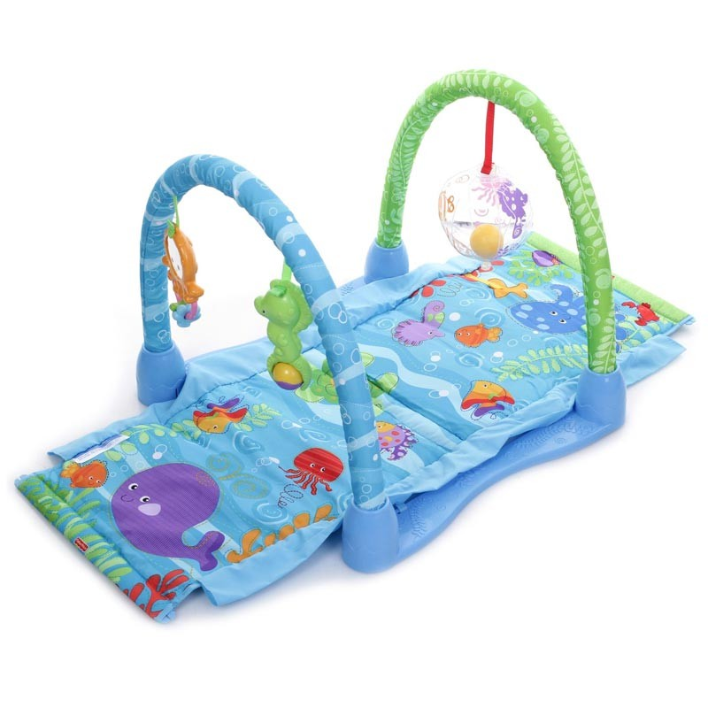 Fisher Price Ocean Paradise Kick Amp Crawl Baby Playmat Arch