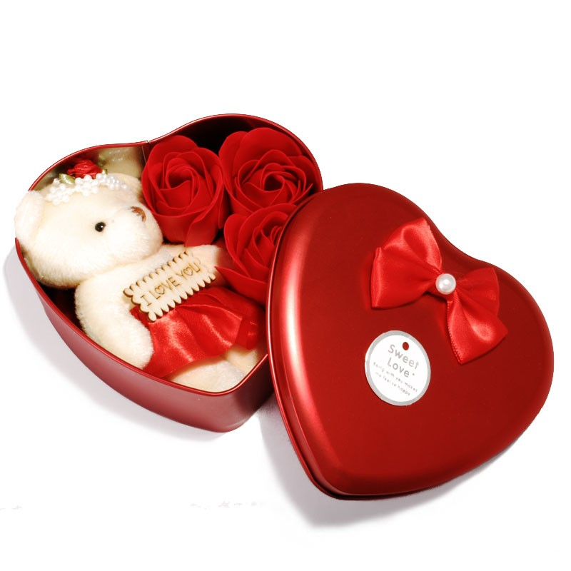 Valentine Special Heart Box Red