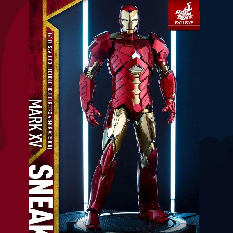 Hot Toys Iron Man 3 Mark Xv Sneaky Retro Armor Version