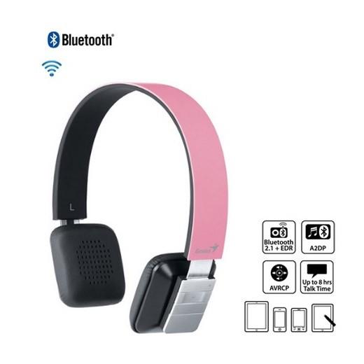 Genius HS-920BT Bluetooth Headphone Pink