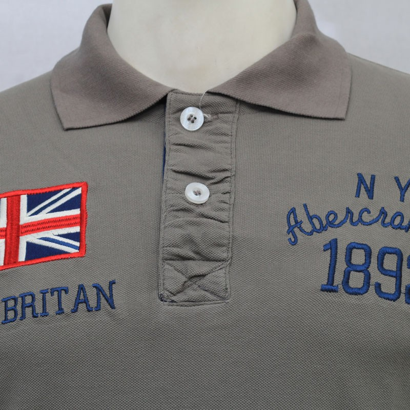 a9b04d4a ... Abercrombie & Fitch Polo Shirt SB07P Dust lightbox moreview ...