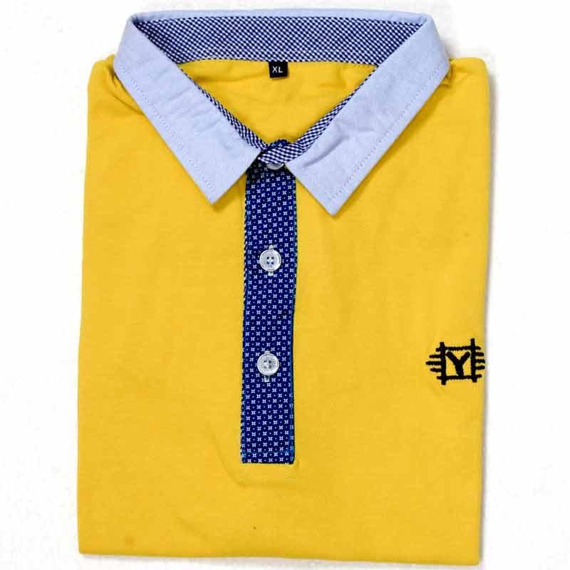 7408e467 ... Stylish Polo Shirt YG07P Goldenrod lightbox moreview ...