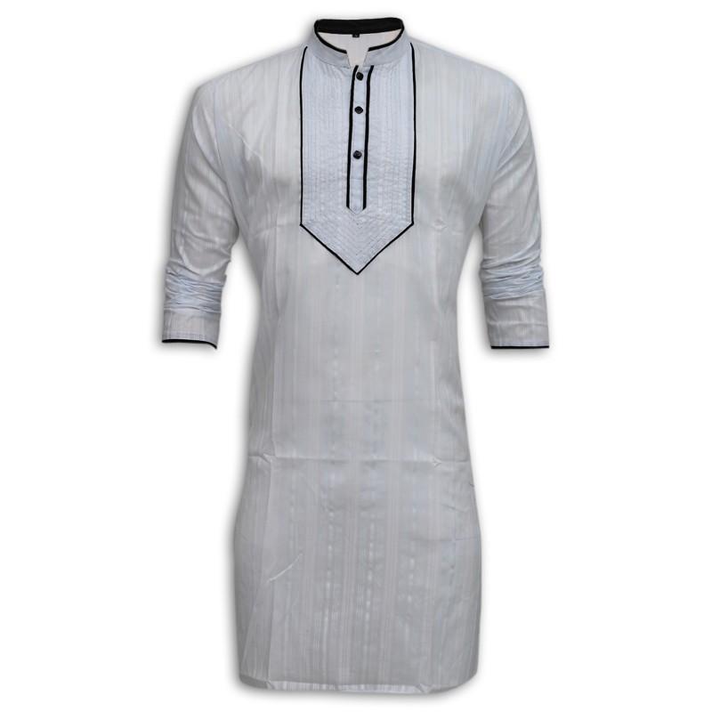 Exclusive Design Eid Panjabi MG08E White